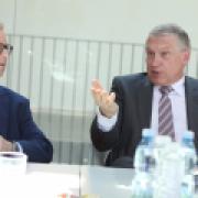 Daniel Meron a prof. Kůs