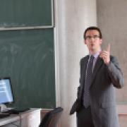Advokát Adam Hlaváč na liberecké univerzitě