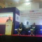 Adam Blažek na IESS v Chennai